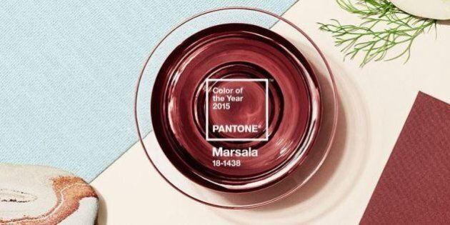 Il Marsala sarà il colore del