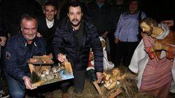 Salvini, il presepe e il cattolicesimo