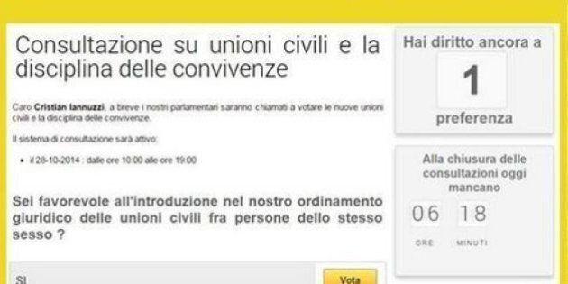 Blog Beppe Grillo, consultazioni online M5S su unioni civili, convivenze e adozioni. Plebiscito per il