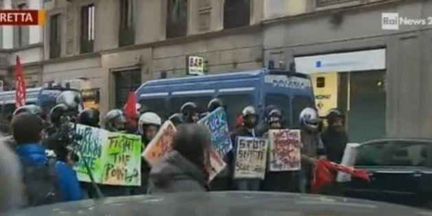 Scala Milano, la prima con Fidelio. Fuori dal teatro la polizia carica: due carabinieri e tre manifestanti