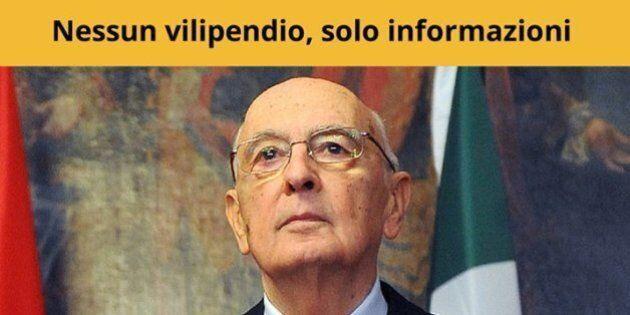 Processo Stato Mafia, M5s contro Napolitano: