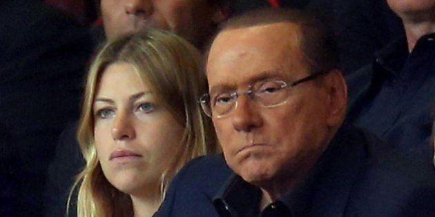 Silvio Berlusconi con gli occhiali nuovi al Meazza: in tribuna a fianco alla figlia Barbara per Milan-Lazio