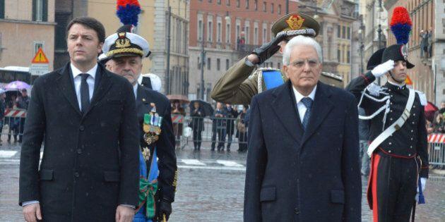Sergio Mattarella: distante da Renzi ma non nemici, la difesa dei giudici non è l'inizio di una guerra...