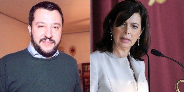 Matteo Salvini Vs Laura Boldrini: