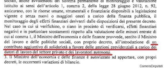 Jobs Act, nel decreto legislativo spunta la clausola di solidarietà a carico degli imprenditori. Poletti...