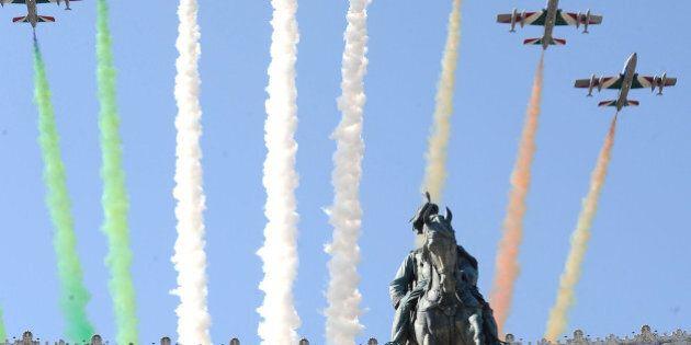 Roma 2 giugno 2014. 68° festa della Repubblica. Tradizionale parata