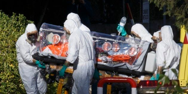 Ebola, Oms: