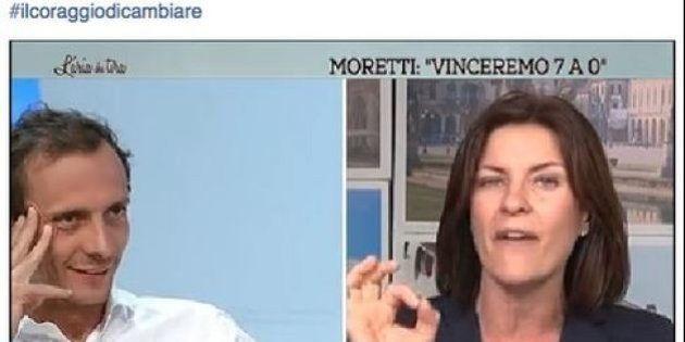 Alessandra Moretti alla Regionali in Veneto non ce la fa. Quando twittawa:
