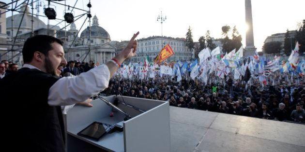 Sondaggi politici: per Matteo Salvini niente effetto piazza, la Lega Nord non guadagna consensi. Per...