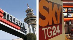 La tv che verrà: alleanza Sky-Telecom per vedere i canali attraverso la fibra