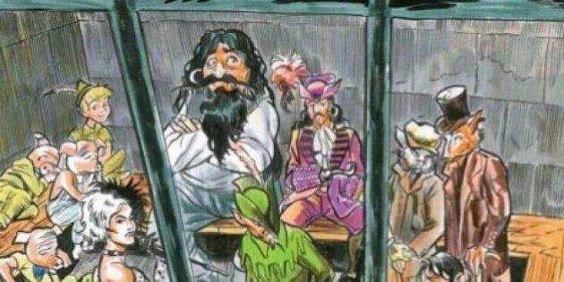 'Favole alla sbarra' di Enzo Beretta. In un libro magistrati e avvocati processano i personaggi