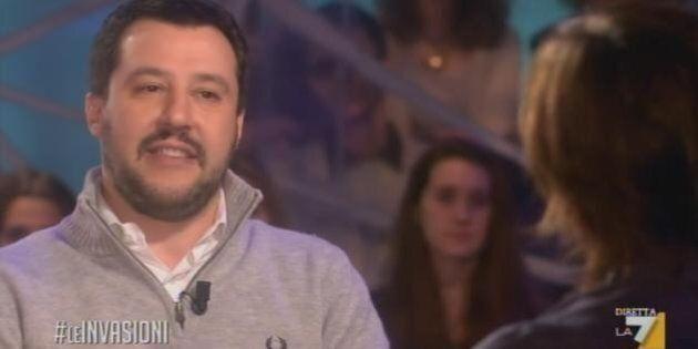 Salvini recordman di presenze tv: 73 presenze in 60 giorni, 24 ore davanti le telecamere. Grillo e Berlusconi