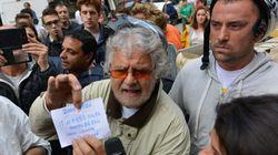 Grillo riceve i 2mila euro per gli alluvionati ma rifiuta le