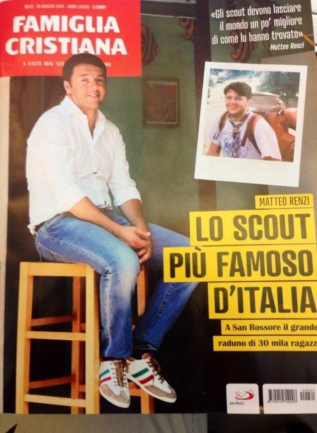 Matteo Renzi dagli scout a San Rossore per la Route nazionale