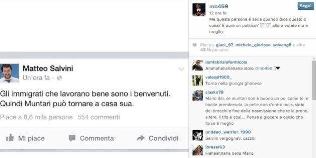 Matteo Salvini attacca Muntari: