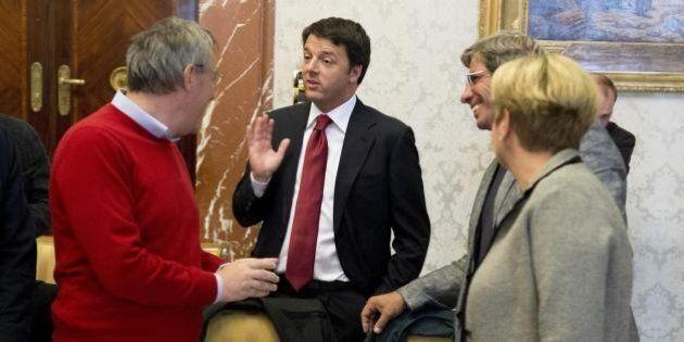 Matteo Renzi a Brescia per un discorso alla Palazzoli. La Fiom pronta a presidi e cortei di