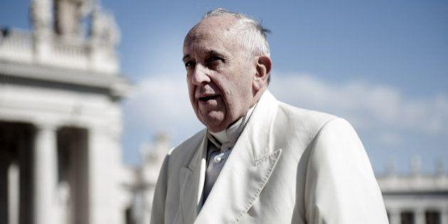 Papa Francesco alle Fosse Ardeatine: il Pontefice