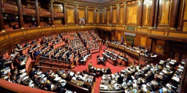 Italicum, il Senato approva la legge elettorale. Bagarre in Aula, le opposizoni: