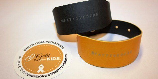 Gold for Kids 2015, una settimana a sostegno dell'oncologia pediatrica con la Fondazione Veronesi
