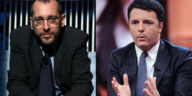 Corrado Formigli vs Matteo Renzi:
