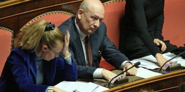Sandro Bondi e Manuela Repetti votano sì alla fiducia su dl