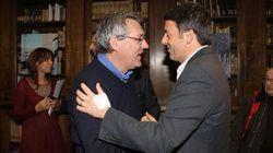Renzi e Landini due uomini soli al