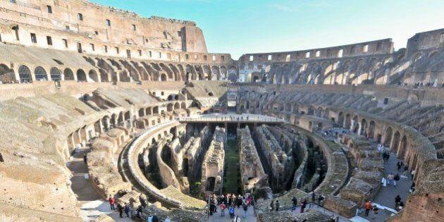 Nell'arena del Colosseo in campo le solite fazioni tra