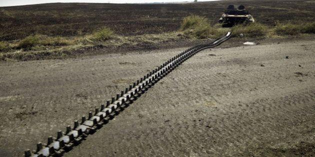 Premier ucraino lancia progetto Muro con la Russia. Arseni Iatseniuk lo ha annunciato in