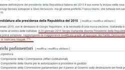 Sergio Mattarella presidente della Repubblica su Wikipedia: il candidato del Pd già eletto, fake fa il giro del