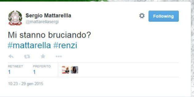 Sergio Mattarella, account fake su Twitter: