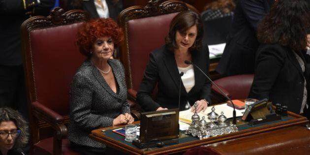 Quirinale 2015, Laura Boldrini e Valeria Fedeli: per la prima volta due donne governano i Grandi Elettori