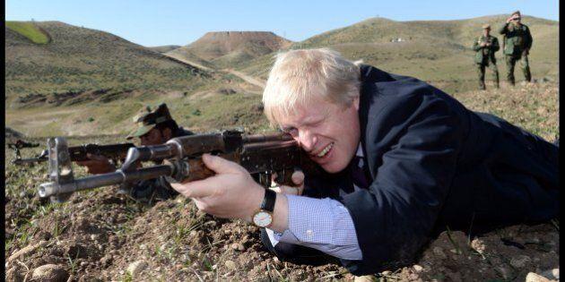 Boris Johnson, sindaco di Londra: