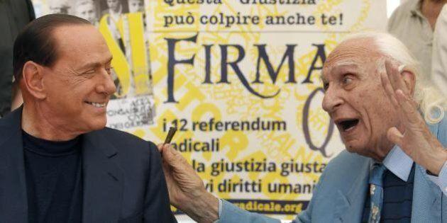 Berlusconi assolto, Marco Pannella: