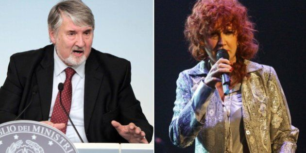 Giuliano Poletti a Fiorella Mannoia: