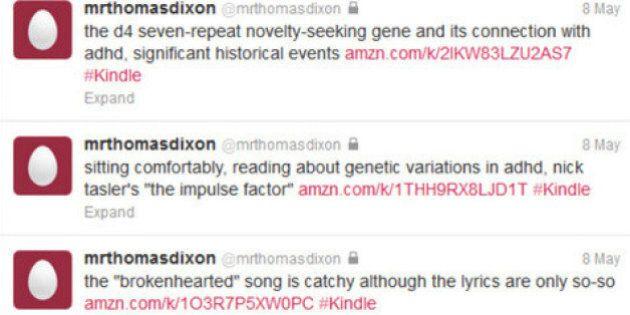 Thomas Dixon twitta per ricordare dopo che un incidente gli ha portato via la memoria: