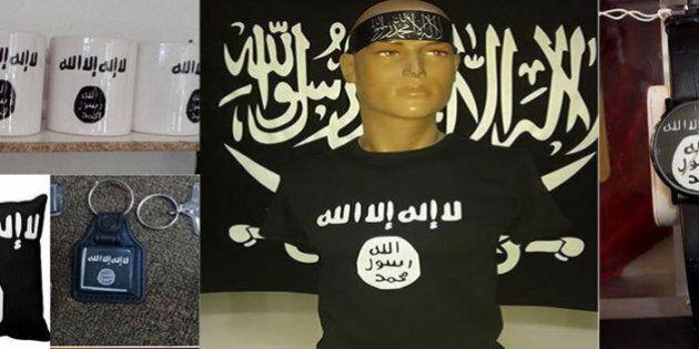 ISIS-mania, la nuova dimensione della propaganda jihadista: in vendita magliette, tazze e altri gadget...