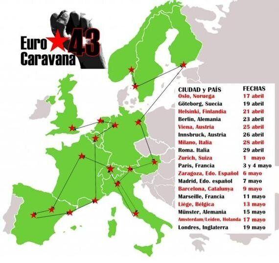 EuroCarovana per i Desaparecidos di