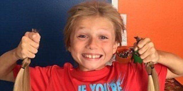 Christian McPhilamy, 8 anni: