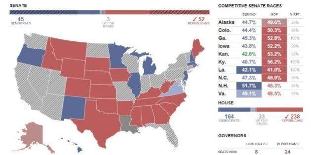 Midterm 2014: l'America ripudia Barack Obama, i repubblicani conquistano il