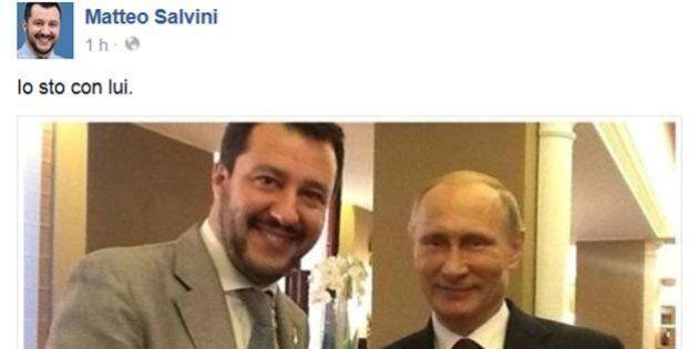 Matteo Salvini debutta tra i giovani di Confindustria.