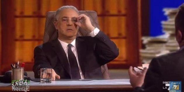 Vincenzo De Luca imitato da Maurizio Crozza: