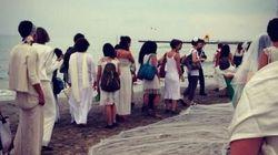 Cerimonia per i morti in mare