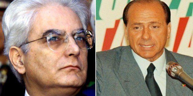 Sergio Mattarella Vs Silvio Berlusconi, uno scontro iniziato nel 1994: