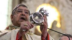 Il miracolo di San Gennaro in streaming (FOTO,