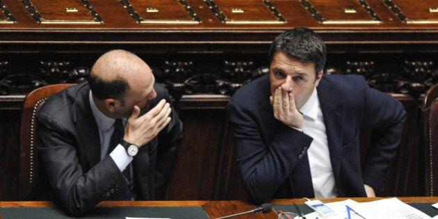 Quirinale: vigilia ad alta tensione Renzi-Alfano. Telefonate, incontri, mediazioni. Poi a sera la rassicurazione....