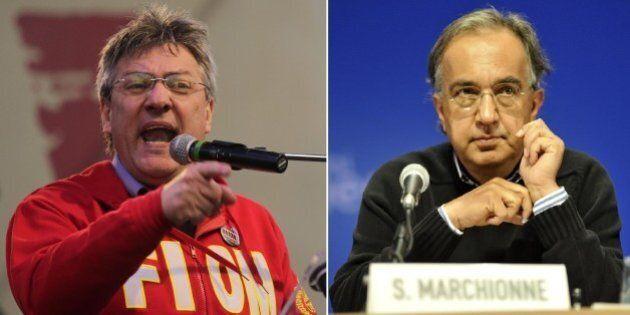 Maurizio Landini risponde a Sergio Marchionne sugli utili ai lavoratori: