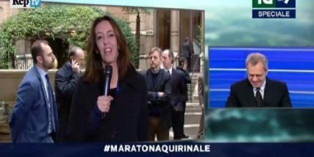 La7, Alessandra Sardoni per ore in diretta tv da Montecitorio con Enrico Mentana. Ironia del web con...