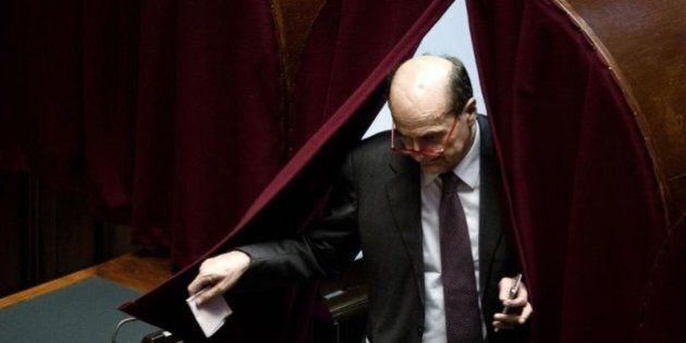 Quirinale, Pier Luigi Bersani elogia la scelta di Sergio Mattarella: