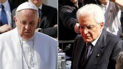 Papa Francesco e Mattarella, il primo faccia a faccia in Vaticano (di
