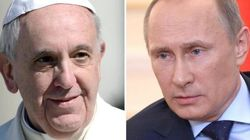 La crisi Ucraina rompe l'alleanza tra papa Francesco e Putin